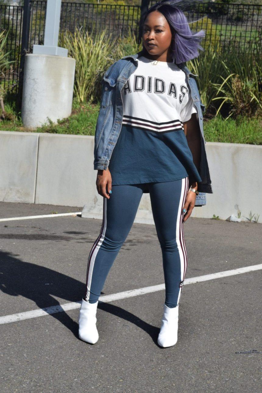 Adidas Supergirl Track Pants